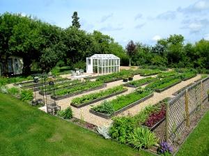 1-vegetable garden looking northeast